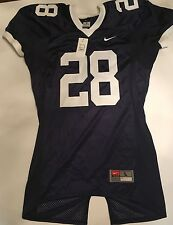Authentic Penn State Nittany Lions Nike football jersey L blue #28 SEWN NWT NEW