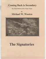 last WW2 mission B24 aircraft VULGAR VIRGIN Ploesti Refinery pamphlet PRICE CUT!