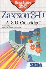 # Sega Master System-ZAXXON 3-d/MS gioco #