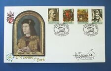 2008 THE HOUSE OF YORK FIRST DAY COVER SIGNED BY ALEX JENNINGS [ RICHARD III ]
