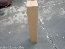 20x Long Tube Box 100x100X600 Cardboard Carton for Shipping, Mailing Box, Store