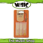 Rico 3 1/2 Strength Alto Saxophone Reeds - 3 Pack - Sax Reed Box of 3 - New