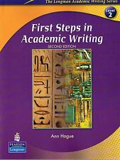 Longman FIRST STEPS IN ACADEMIC WRITING Second Edition Level 2 by A.Hogue @NEW@