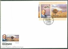 GUINEA 2013 110th ANNIVERSARY OF THE HARLEY DAVIDSON MOTORCYCLE S/S FDC