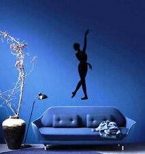 Ballerina Silhouette Ballet Theater Decor Wall Mural Vinyl Decal sticker M451