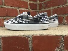 Vans UA Era Platform Black White Checker Skateboard Sneaker Men Size 5.5 Women 7