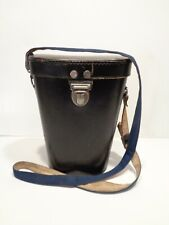 Vintage Leather Carrying Case with Strap for Binoculars