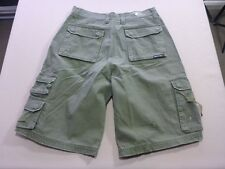 037 BOYS NWOT RIP CURL SIDE POCKETS OLIVE CARGO SHORTS 16 $70 RRP.