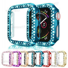 For Apple Watch iWatch Series 5/4/3/2 Diamond Hard Case Protective Bumper Cover
