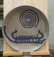 Helgi Joensen Norway mixed metal 1960s Scandinavian pewter plate