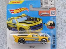 Hot Wheels 2016 #068/250 FIG RIG yellow HW Ride-ons Case Q