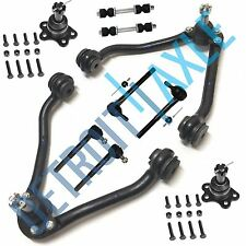 1995-1999 Chevy Suburban C1500 Front Upper Control Arm Tierod Kit 10pc 2WD