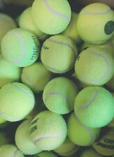 30 Used Tennis Balls. Kids Games / Small Dogs / Older Dogs / Puppies -