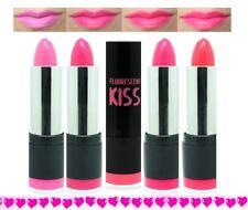 Neon Pink Lipsticks - all 4 shades bubblegum barbie hot tropical by  w7