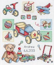 Anchor Cross Stitch Kit - Boy -  Birth Sampler - ACS39