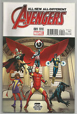 ALL NEW ALL DIFFERENT AVENGERS # 1 * LOCAL COMIC SHOP DAY VARIANT * NEAR MINT