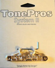 AVR2-G TonePros ABR1 Replacement Tune-O-Matic Bridge, Gold Finish