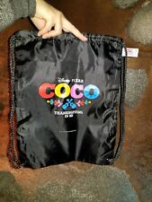 Disney Pixar Coco AP / annual passholder preview drawstring backpack / bag DCA