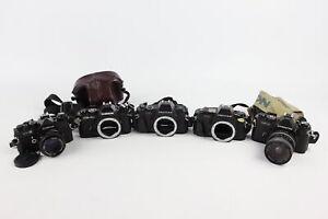 5 x SLR FILM CAMERAS Inc. Pentax P30, P50, Chinon CE-4, CE-4S & Cosina CT-4