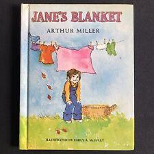 Vtg 1972 Jane's Blanket Arthur Miller Emily McCully Viking Press Ed HC Vintage