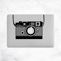 Camera Photography Decal for Macbook Pro Sticker Vinyl Laptop Mac Air Notebook