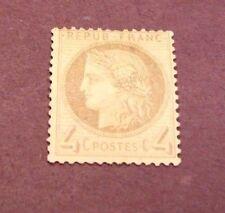 France Stamp Scott#  52  Ceres 1870 MNG  C220