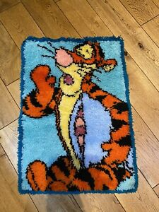 Tigger - Winnie The Pooh Rug Handmade Wool Wall Art
