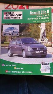 Revue technique Renault Clio 2