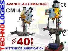 PERCEUSE FRAISEUSE a colonne CM4 persage 40MM model ZX40BPC 400V Avance Auto !