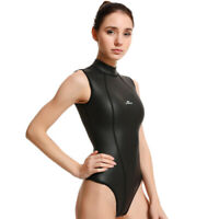 3mm Wetsuit Bikini One Piece Smooth Skin Neoprene Swimsuit Surf Scuba Dive New