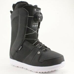 Ride Sage Boa Snowboard Boots Women's Size 8 Black New 2022