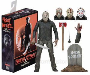 NECA Friday the 13th Part 5 Jason Voorhees Ultimate 18cm Action Figure Model