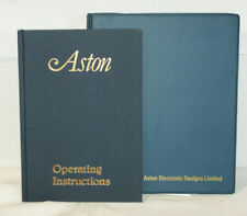 Aston Electronic Designs: Video Font Composer: Operating Instructions