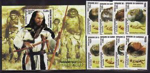 Cambodia 2150-58 Prehistoric Man Mint NH
