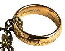 Señor de los Anillos Anillo Hobbit anillo, un anillo, Con Bolsa De Regalo Y Caja