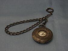 5830-835 Taschenuhr Bergland mit Kette ZB 3,5 cm durchmesser Kettelang 30 cm