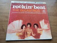 Lp-THE DeCASTROS-Rockin' Beat-1960-Goody Goody-I Enjoy Being A Girl