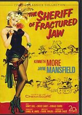 THE SHERIFF OF FRACTURED JAW~1958 MINT RARE DVD~JAYNE MANSFIELD KENNETH MOORE