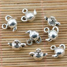 16pcs tibetan silver color teapot design charms EF2355