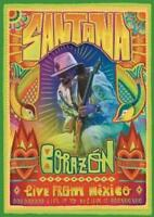 SANTANA: CORAZON LIVE FROM MEXICO - LIVE IT TO BELIEVE IT NEW DVD