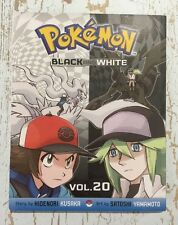 POKÉMON Black And White Vol 20 Graphic Novel - AS NEW Manga 1st Printing Kusaka