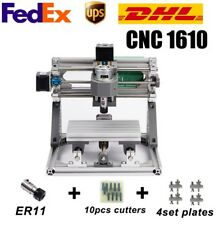 CNC 1610 ER11 DIY Router CNC Machine Wood Carving,work area 16x10 3 Axis Pcb Kit