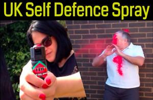 Self Defense peppers alternative spray Farb Gel self defence spray 100% UK Legal