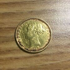 1880 Great Britain Gold Half Sovereign. Nice High Grade. Die Number 18 RARE DATE