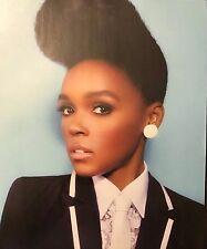 Janelle Monae 2pg NYLON magazine feature, clippings