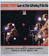 LP HERBIE MANN LIVE AT THE WHISKY A GO GO