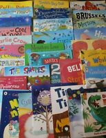 Young childrens Fiction picture Books Bundle/collection of 10 Large Used Books