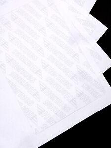 Hermes Etiketten Original Versandetiketten DIN A4 Aufkleber selbstklebend
