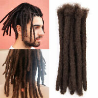 "Short 6"" Men Dreadlocks Synthetic Crochet Braiding Hippies Dreads Hair Extension"