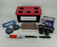 EZHYDROGROW New Hydroponic grow kit Cannabis  Complete Bubbler DWC Grow tent kit